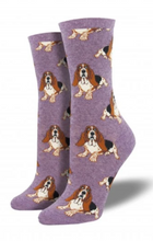 Ladies Nothing But A Hound Dog Socks