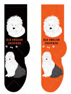 Unisex Old English Sheepdog Socks