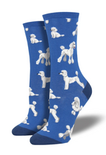 Ladies Oodles Of Poodles Socks
