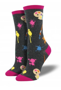 Ladies Painter's Palette Socks