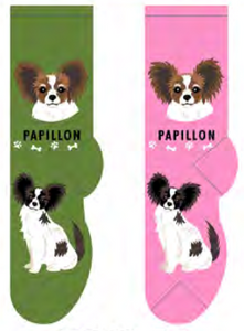 Unisex Papillon Socks