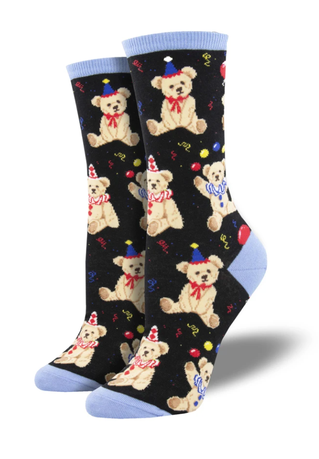 Ladies Party Bear Socks
