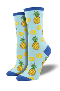 Ladies Pineapple Socks