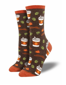 Ladies Pumpkin Spice Up Your Life Socks