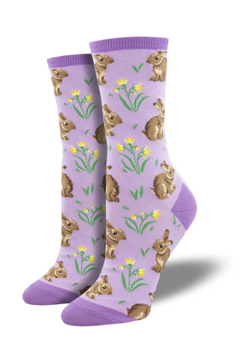 Ladies Relaxed Rabbit Socks
