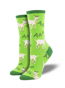 Ladies Screaming Goat Socks