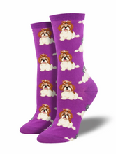 Ladies Shih Tzu Socks