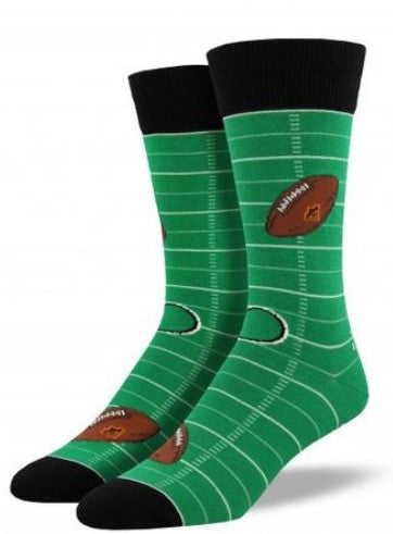Football Field Socks