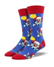 Scary Clown Socks