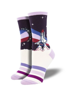 Ladies Starburst Socks