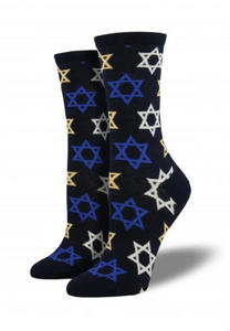 Ladies Star Of David Socks