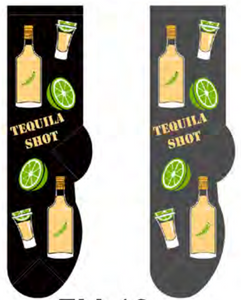 Men's Tequila Shot Socks