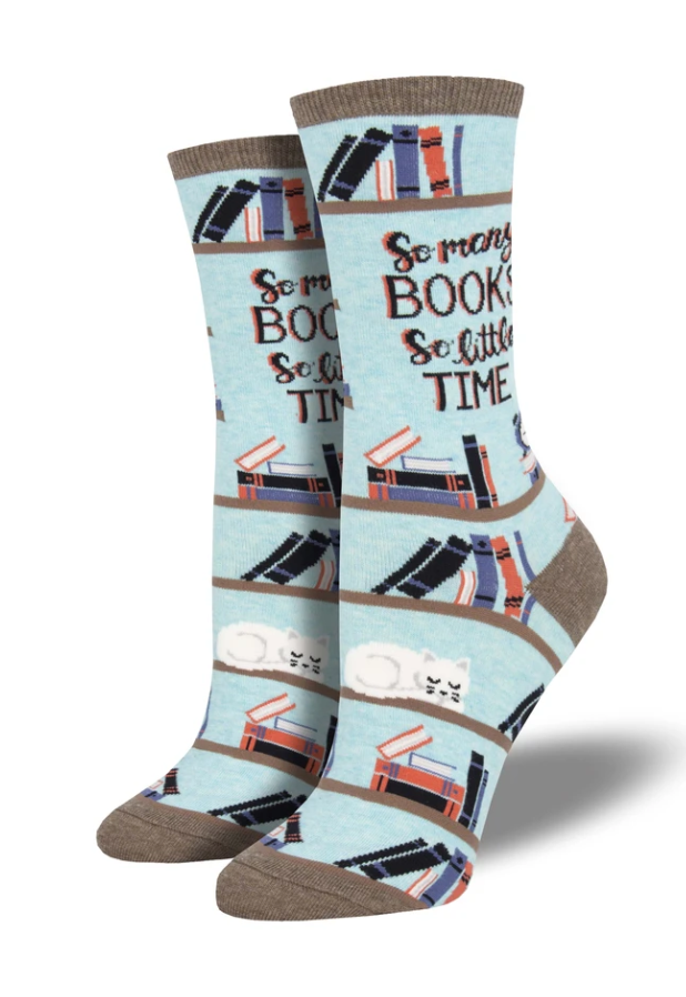 Ladies Time For A Good Book Socks