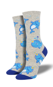 Ladies Unicorn Of The Sea Socks