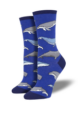 Ladies Whale Socks