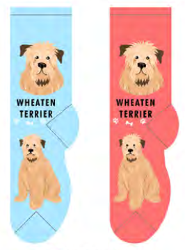 Unisex Wheaten Terrier Socks