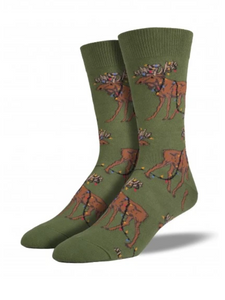 Christmas Moose Socks
