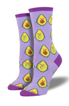 Ladies You Guac My World Socks