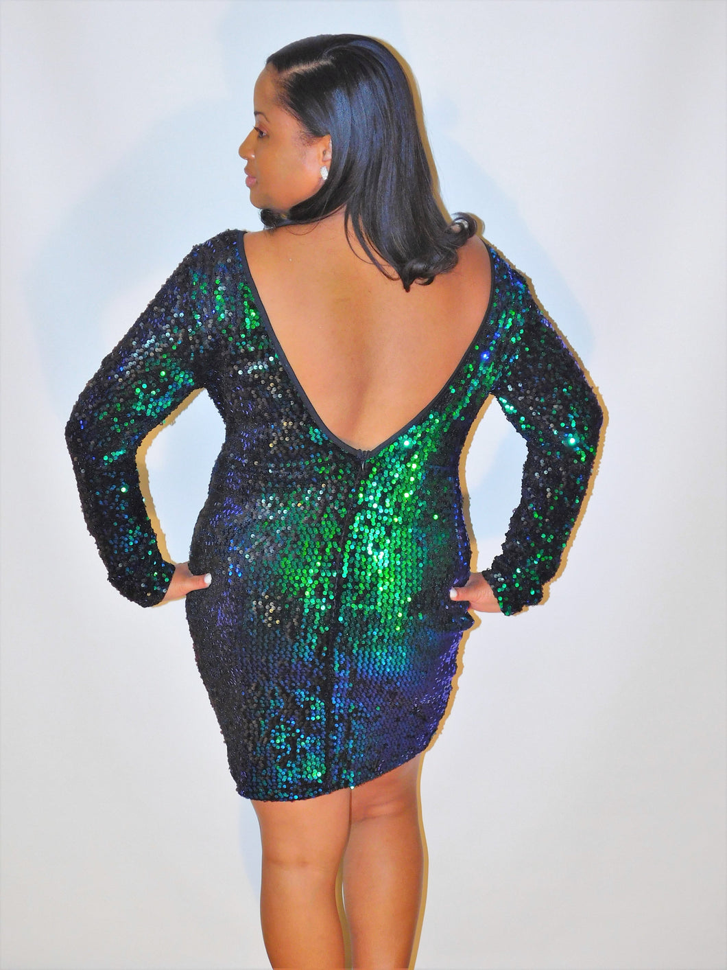 Sue Sequin Dress