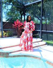 Load image into Gallery viewer, Petal Maxi Dress