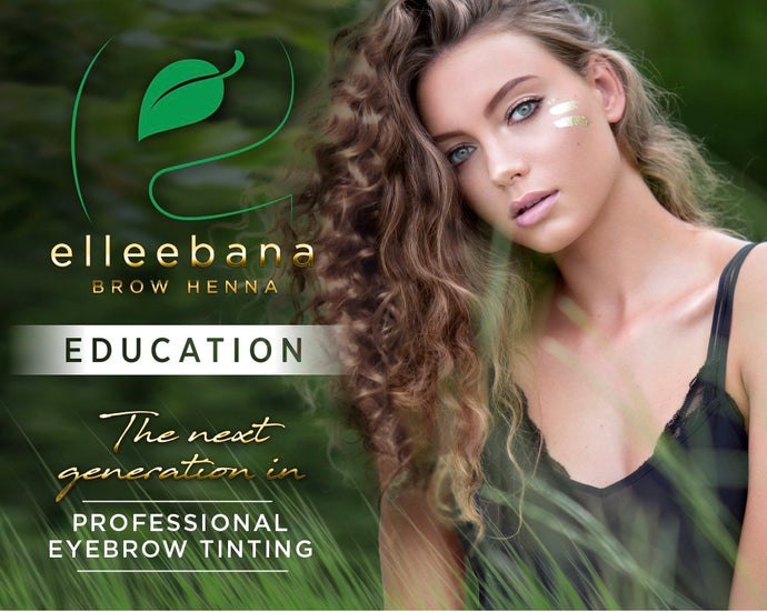 Elleebana Brow Henna HANDS ON Training