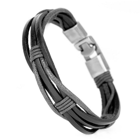Weave Leather Bracelet