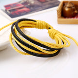 Multi-layers Winding Handmade Bracelet For Men