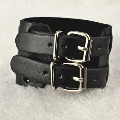 Soft touch Belt & Buckle Wristband