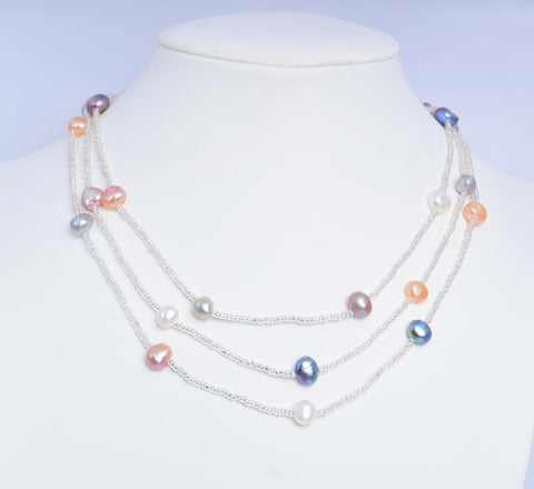 Well Crafted Baroque Pearl Necklace