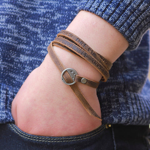 Multiple-wrap Bracelet
