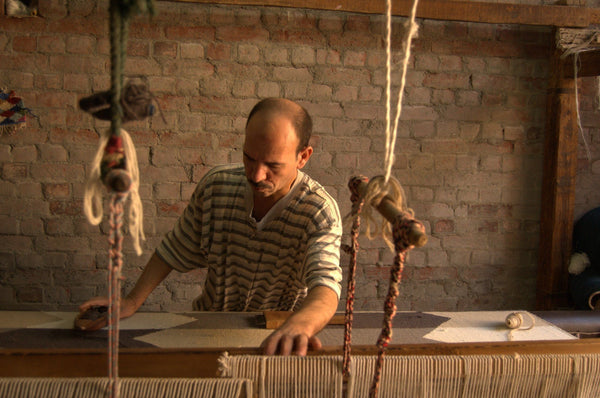 Reviving traditional kilim weaving in Fowwa, Egypt