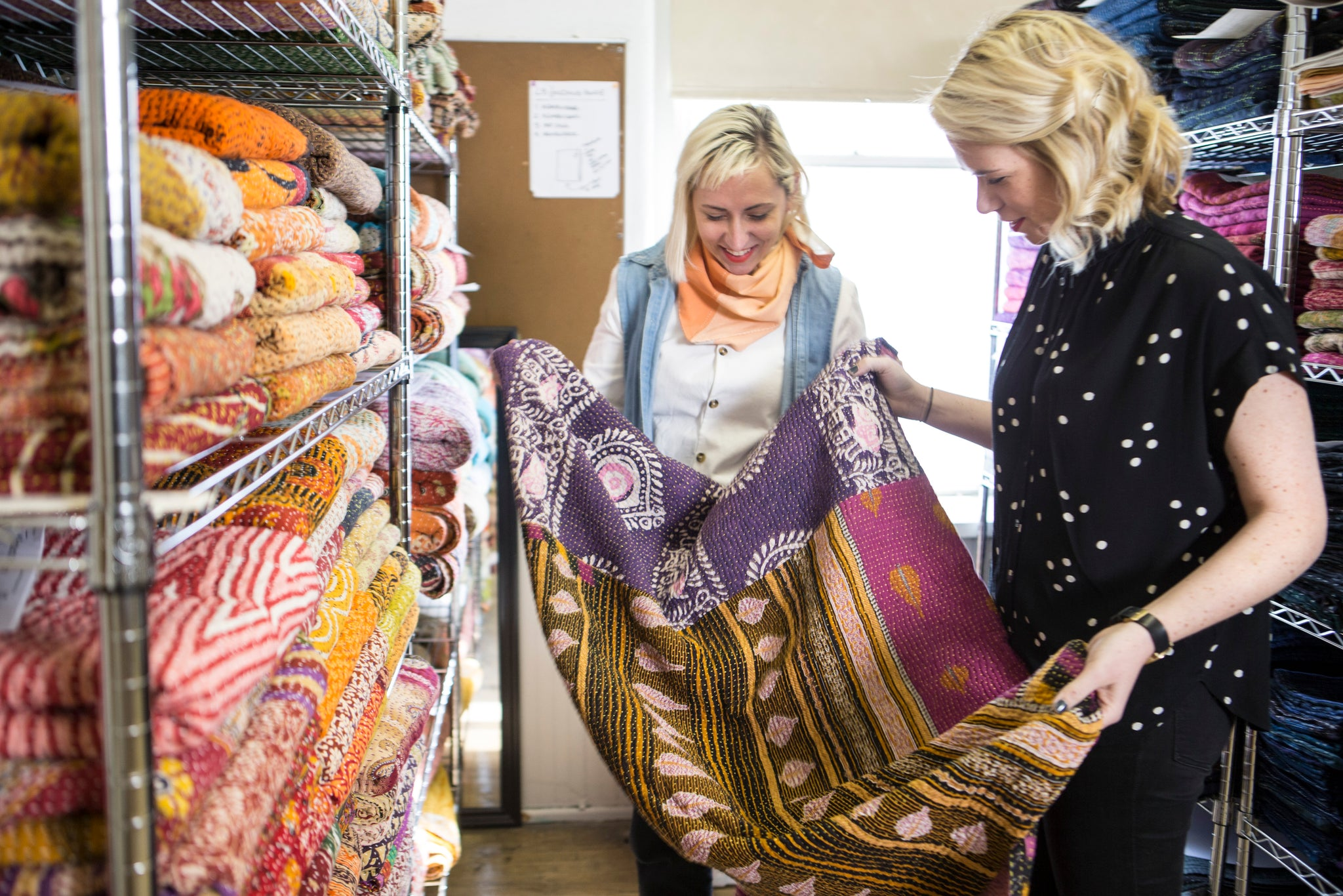 Colleen and Maggie Clines of Anchal Project