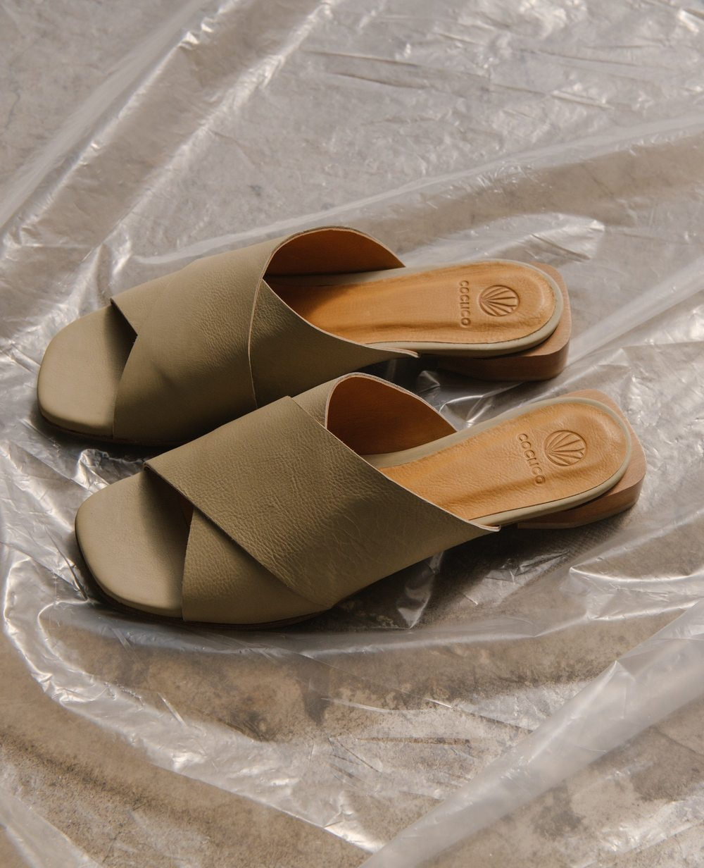 sandals from slow fashion brand Coclico
