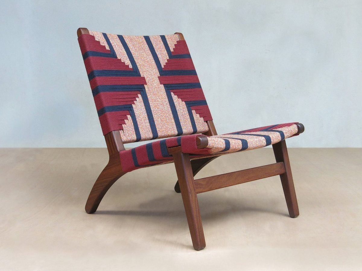Sustainable ethically made chair