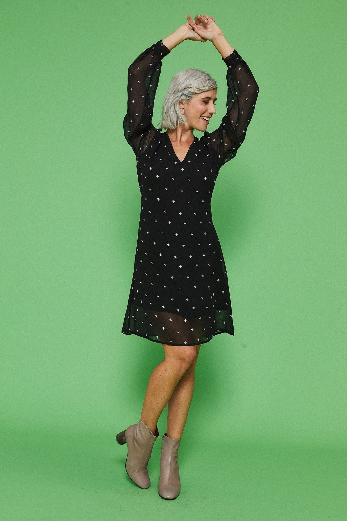 Symbology fair trade shift dress