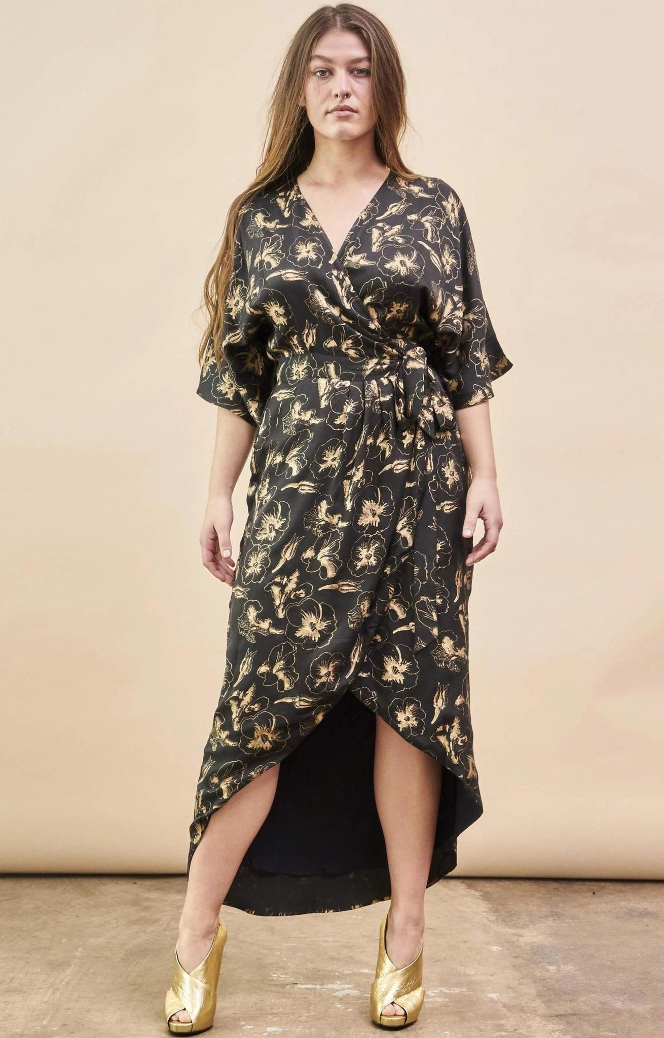 Symbology fair trade wrap dress