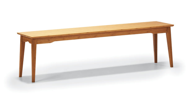 Greenington Currant Long Bench - Caramelized