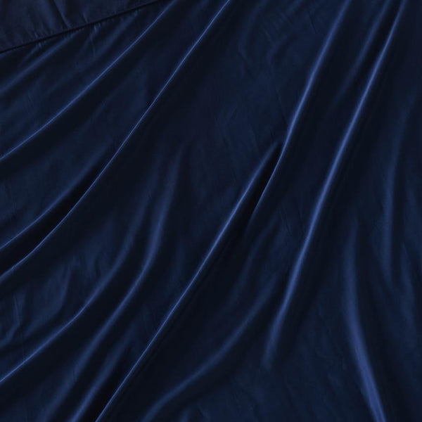 Bamboo Lyocell Duvet Cover - Blue Nights