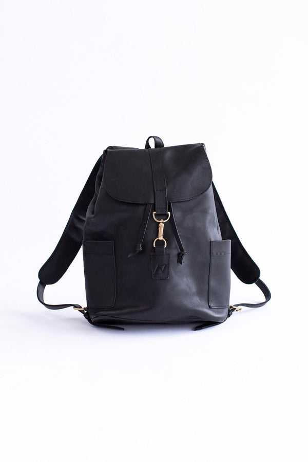 Abby Alley Adelaide Backpack, Black Abby Alley