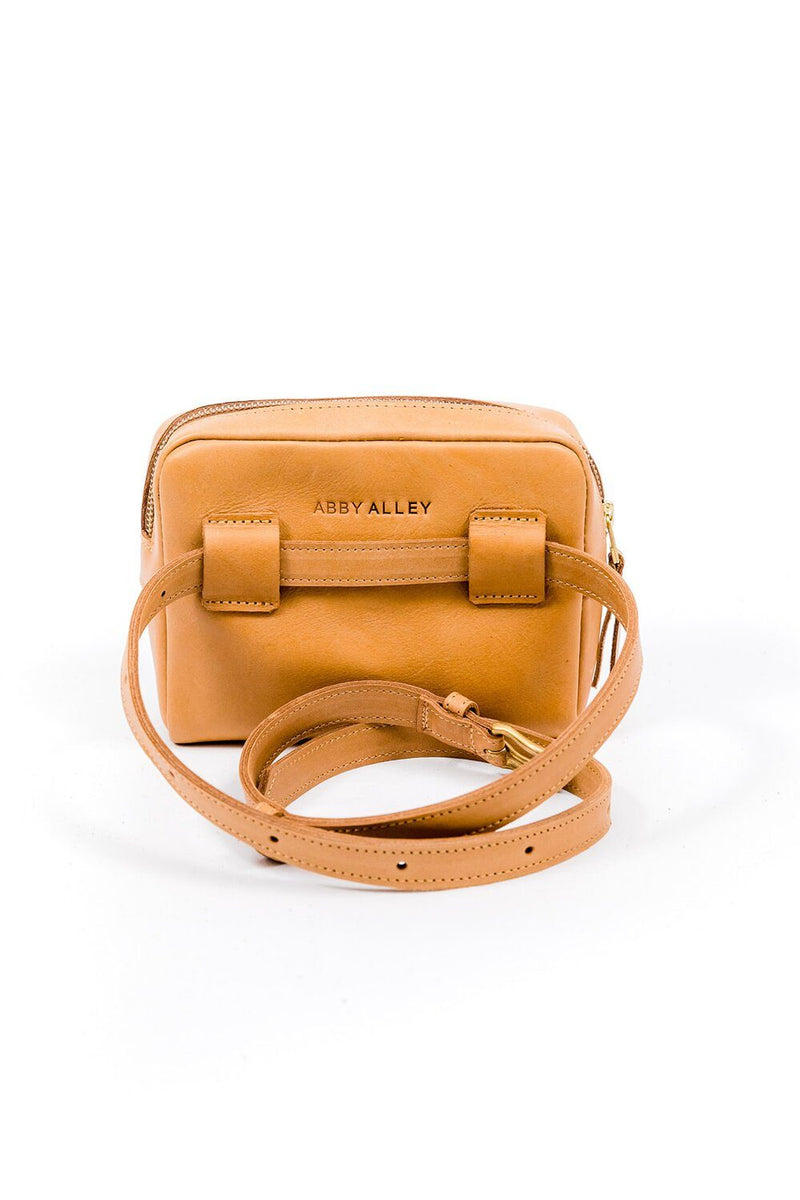 Abby Alley Brenda Belt Bag, Tan Abby Alley