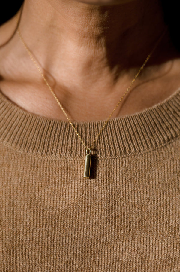 Abby Alley Cylinder Pendant Necklace Jewelry Abby Alley