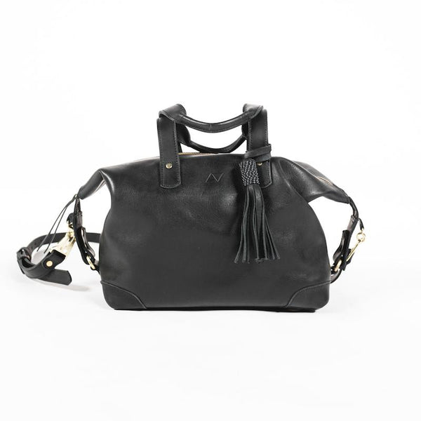 Abby Alley Ellen Handbag, Black Abby Alley