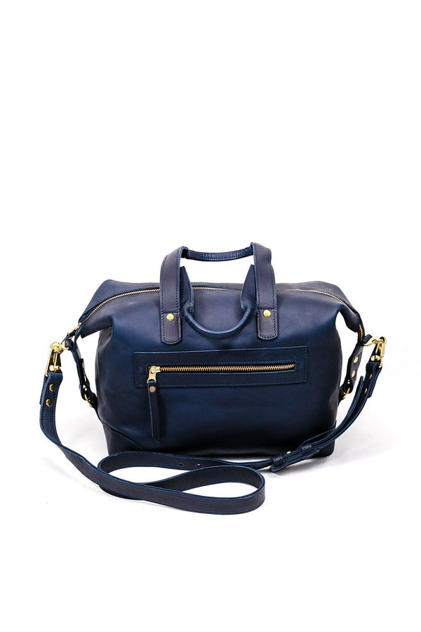Abby Alley Ellen Handbag, Navy Abby Alley