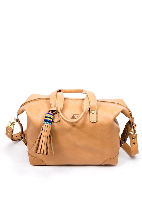 Abby Alley Ellen Handbag, Tan Abby Alley