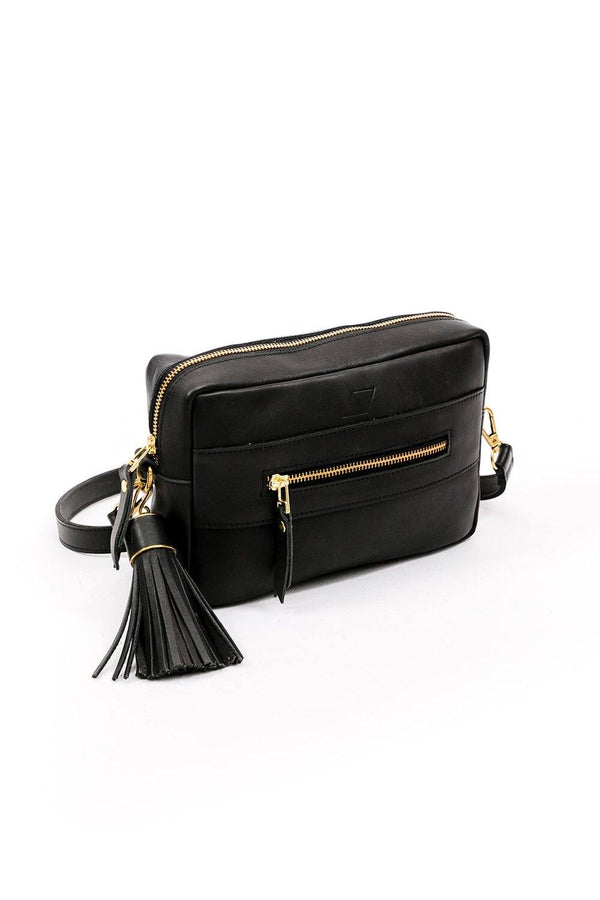 Abby Alley Essential Crossbody Bag, Black Abby Alley