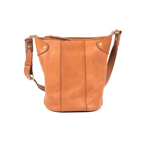 Abby Alley Keri Bucket Bag, Chestnut Abby Alley