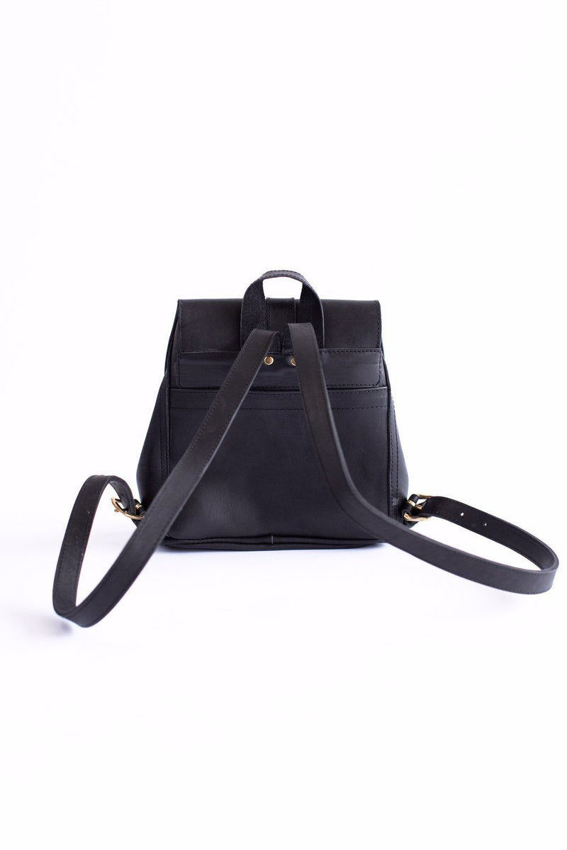 Abby Alley Mini Adelaide Backpack, Black Abby Alley