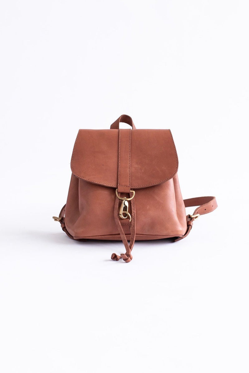 Abby Alley Mini Adelaide Backpack, Chestnut Abby Alley