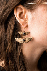 Altar Stacked Moon Earrings Jewelry Altar-5055170117695