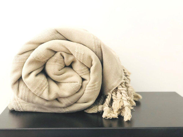 Amante Kurios Stonewashed Blanket - Desert Bedding and Bath Amante Marketplace